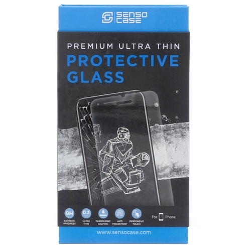 Защитное стекло Sensocase для Apple iPhone 7 Plus Protective Glass 0.2 mm 2,5D 9H+