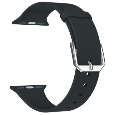 Lyambda Силиконовый ремешок Alcor для Apple Watch 38/40 mm