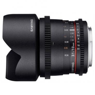 Объектив Samyang 10mm T3.1 ED AS NCS CS VDSLR II Pentax K