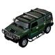 Легковой автомобиль MZ Hummer H2 (MZ-2056A) 1:10 50 см