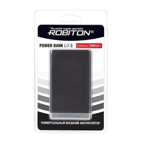 Аккумулятор ROBITON Power Bank Li7.8