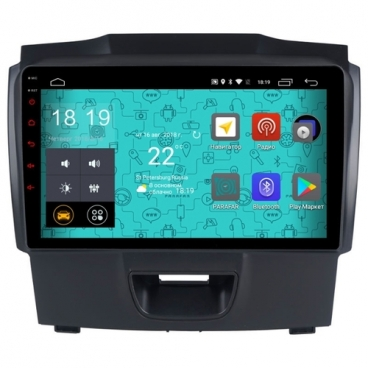 Автомагнитола Parafar 4G/LTE IPS Chevrolet Trailblazer Android 7.1.1 (PF957)
