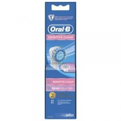 Насадка Oral-B Sensitive Clean + Sensi UltraThin
