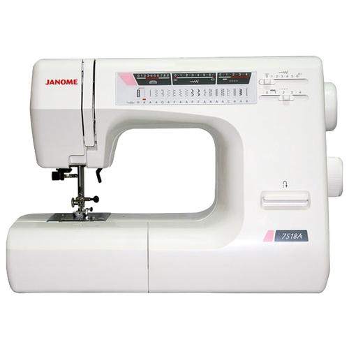 Швейная машина Janome 7518A (жесткий чехол)