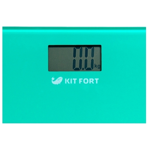 Весы Kitfort КТ-804-1 бирюзовый