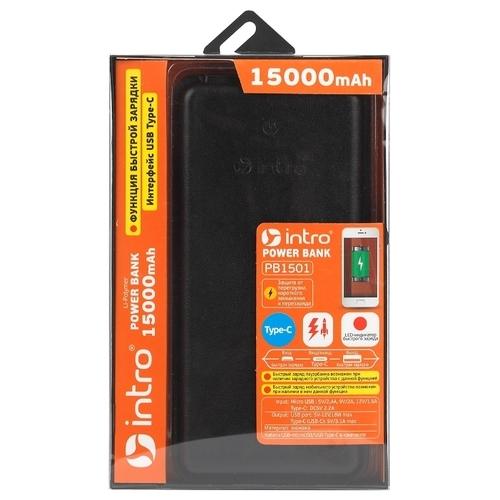 Аккумулятор Intro PB1501