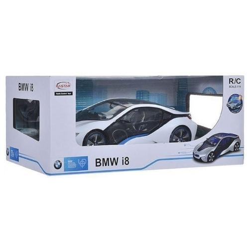 Легковой автомобиль Rastar BMW I8 (49600-11) 1:14 33 см