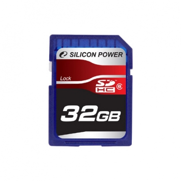 Карта памяти Silicon Power SDHC Card Class 6