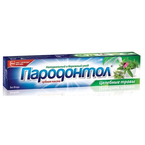 Зубная паста СВОБОДА Пародонтол Целебные травы, мята