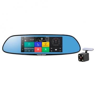 Видеорегистратор RECXON ASSIST V1, 2 камеры, GPS