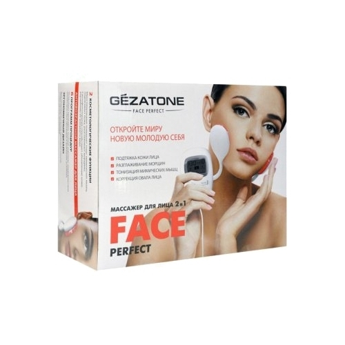 Gezatone Миостимулятор для безоперационного лифтинга лица и светотерапии Perfect Face