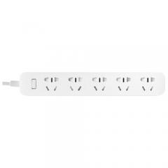 Удлинитель Xiaomi Mi Power Strip 5 (XMCXB03QM), белый, 2 м