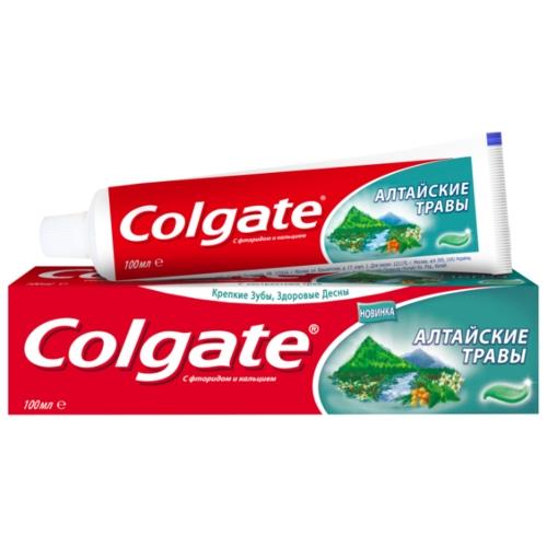 Зубная паста Colgate Алтайские травы