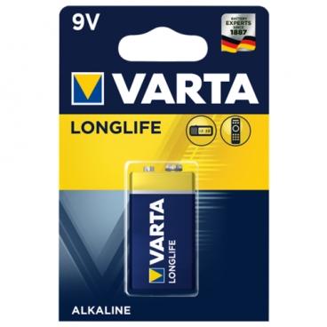 Батарейка VARTA LONGLIFE 9V Крона