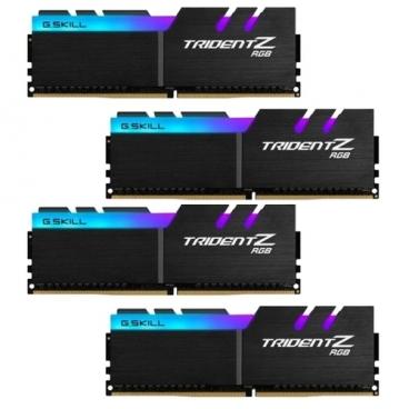 Оперативная память 8 ГБ 4 шт. G.SKILL F4-3200C14Q-32GTZRX