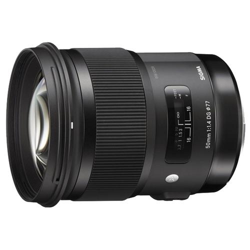 Объектив Sigma AF 50mm f/1.4 DG HSM Art Minolta A