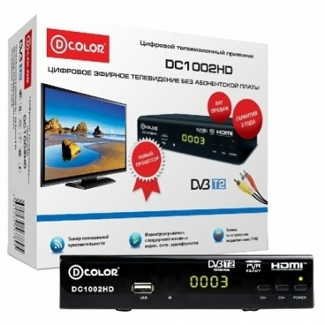 TV-тюнер D-COLOR DC1002HD
