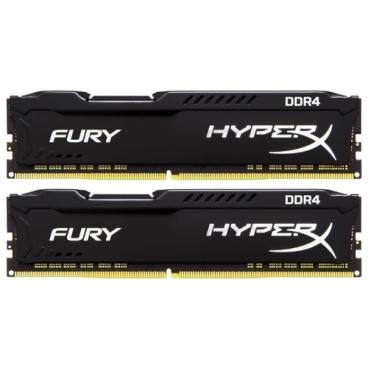 Оперативная память 16 ГБ 2 шт. HyperX HX434C19FBK2/32