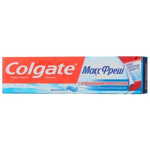 Зубная паста Colgate МаксФреш Взрывная Мята