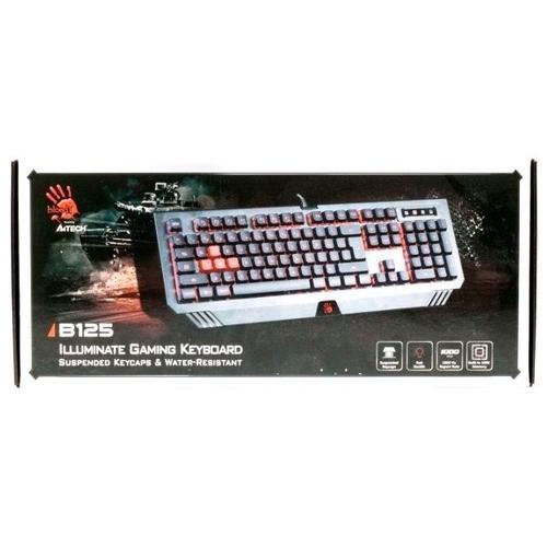 Клавиатура A4Tech Bloody B125 Black USB