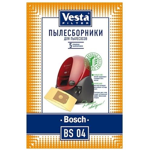 Vesta filter Бумажные пылесборники BS 04