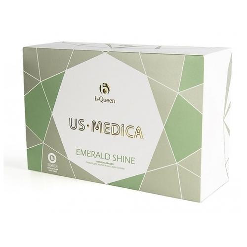 US Medica Прибор для мытья и массажа головы Emerald Shine