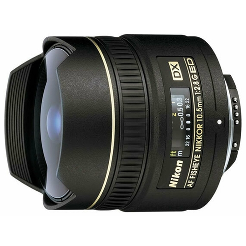 Объектив Nikon 10.5mm f/2.8G ED DX Fisheye-Nikkor""