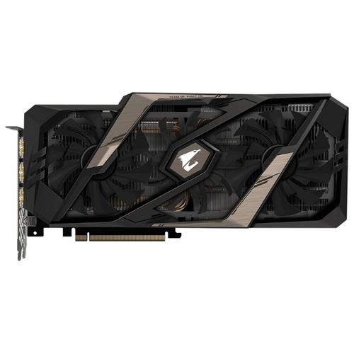 Видеокарта GIGABYTE GeForce RTX 2080 Ti 1695MHz PCI-E 3.0 11264MB 14000MHz 352 bit 3xHDMI HDCP AORUS