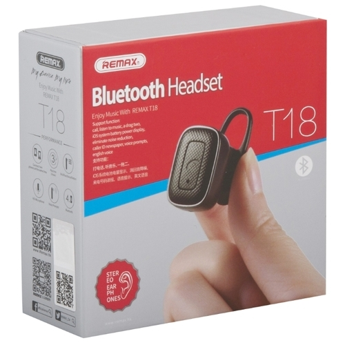 Bluetooth-гарнитура Remax RB-T18