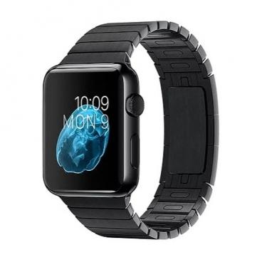 Karmaso Ремешок для Apple Watch 38 мм стальной черный