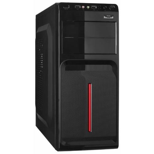 Компьютерный корпус ExeGate AB-221 w/o PSU Black
