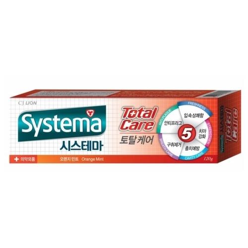 Зубная паста CJ Lion Systema Total Care Апельсин