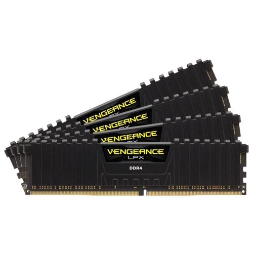 Оперативная память 8 ГБ 4 шт. Corsair CMK32GX4M4D3200C16