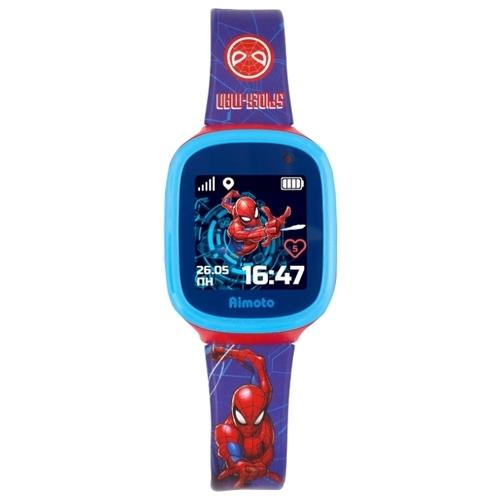 Часы Кнопка жизни Marvel Человек-паук