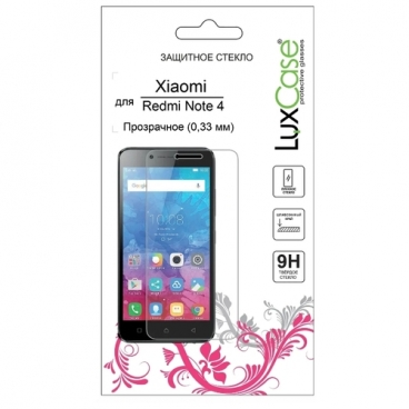 Защитное стекло LuxCase для Xiaomi Redmi Note 4