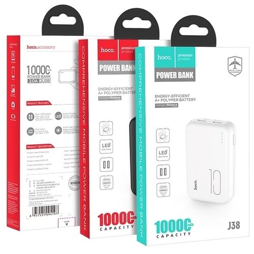 Аккумулятор Hoco J38 Comprehensive 10000 mAh
