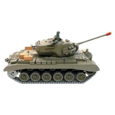 Танк Heng Long M26 Pershing Snow Leopard (3838-1) 1:16 53.5 см