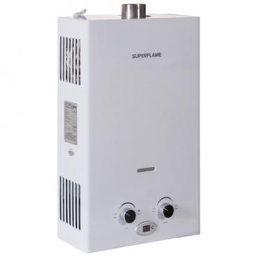 Проточный газовый водонагреватель Superflame SF0420T (полутурбо)