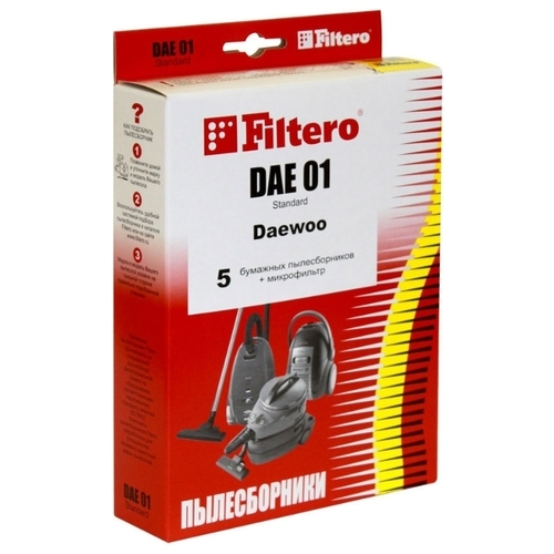 Filtero Мешки-пылесборники DAE 01 Standard