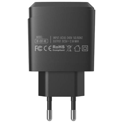 Сетевая зарядка Dotfes C07-1
