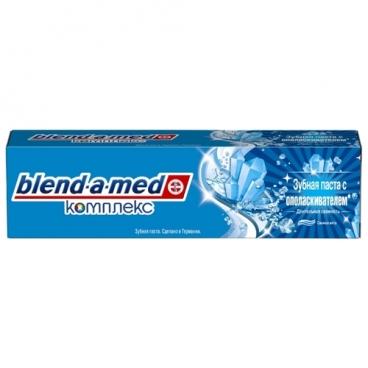 Зубная паста Blend-a-med Комплекс с ополаскивателем Длительная свежесть, свежая мята
