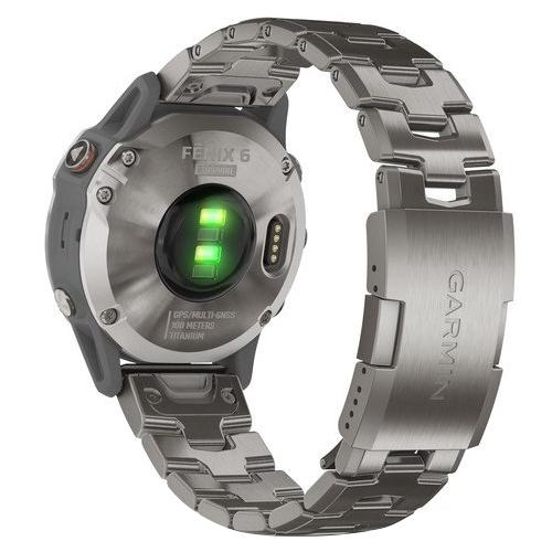 Часы Garmin Fenix 6 Sapphire титановый с титановым браслетом