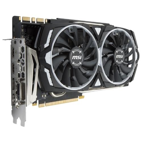 Видеокарта MSI GeForce GTX 1080 Ti 1480MHz PCI-E 3.0 11264MB 11016MHz 352 bit DVI 2xHDMI HDCP Armor