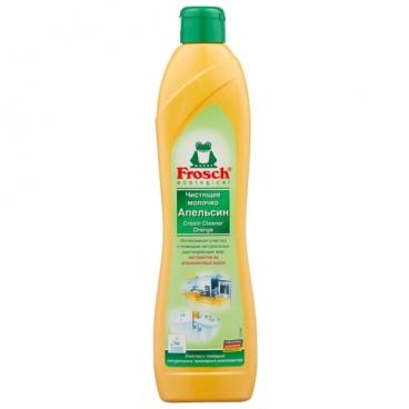 Чистящее абразивное молочко Апельсин Frosch