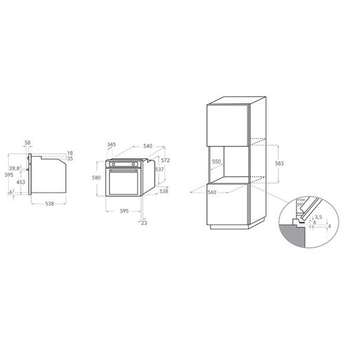 Электрический духовой шкаф KitchenAid KOASP 60602