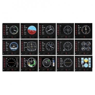 Панель Logitech Flight Instrument Panel