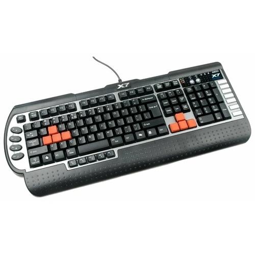 Клавиатура A4Tech X7-G800MU Black-Silver PS/2+USB