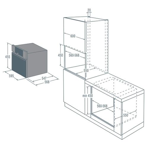 Электрический духовой шкаф Asko OCM8464A