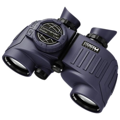 Бинокль Steiner 7x50 Commander Global Compass
