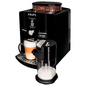 Кофемашина Krups EA82F810 Quattro Force